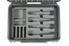 SKB 3i-1813-7WMC - iSeries Injection Molded Case for (8) Wireless Mic Systems