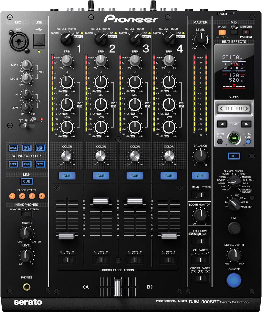 Pioneer DJM-900SRT Serato DJ Edition DJ Controller Driver for Mac