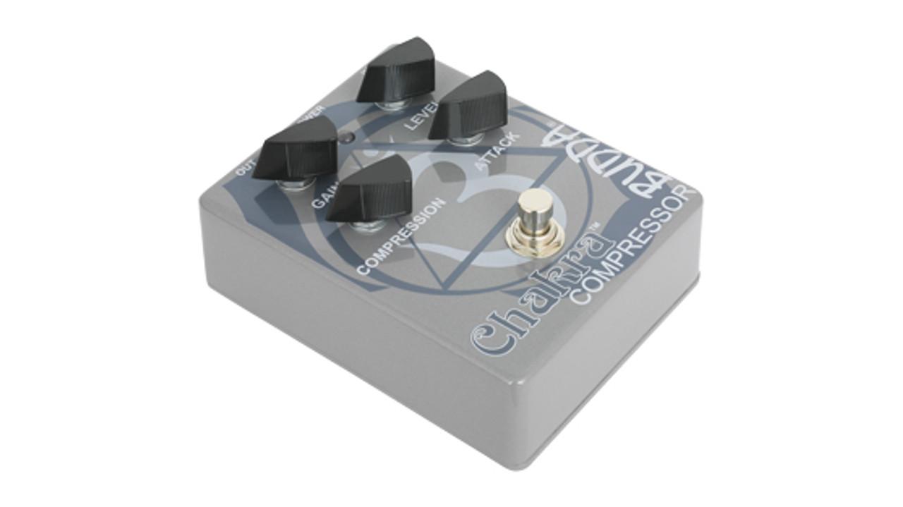 Budda Chakra Compressor Guitar Effects Pedal W// Gain Control BRS-97050 Peavey