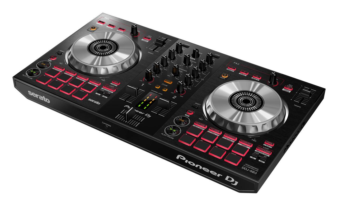 Pioneer DDJ-SB3 Compact Serato DJ Controller