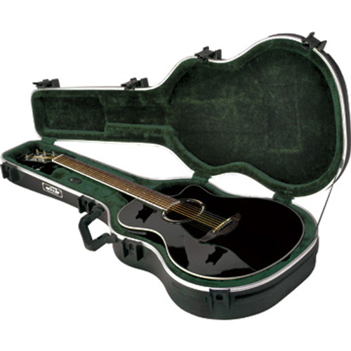 SKB 1SKB-30 Thin-line Acoustic-Electric/Classic Shaped Hardhsell Case