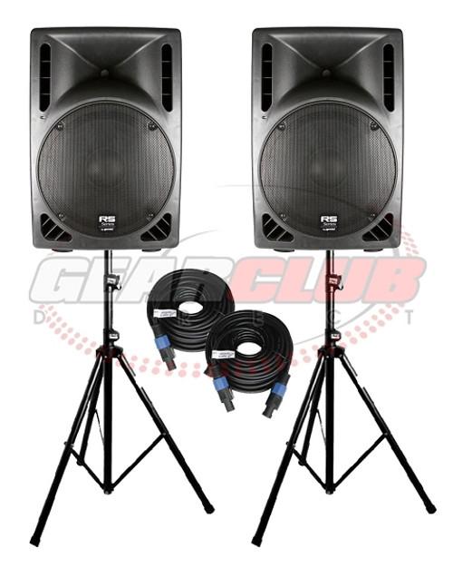 Gemini RS-415USB Pro Powered Speakers