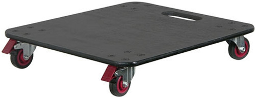 Odyssey ADP30E Dolly Plate with Casters and Brakes