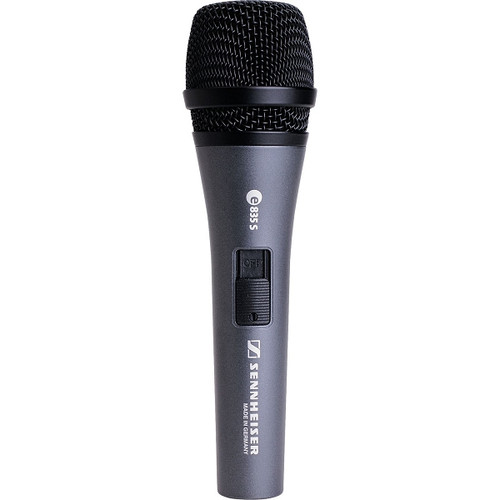 Sennheiser E835-S Microphone with Built-In On/Off Switch