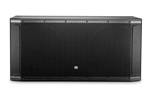 JBL SRX828SP 18 Dual-Powered Subwoofer System Front View