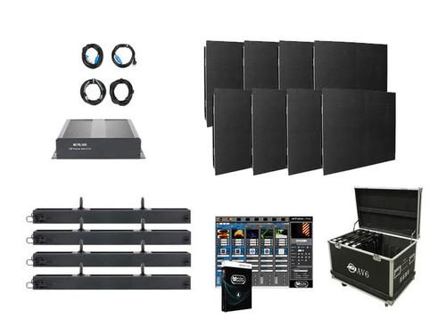 American DJ AV4X2 Video Wall Package