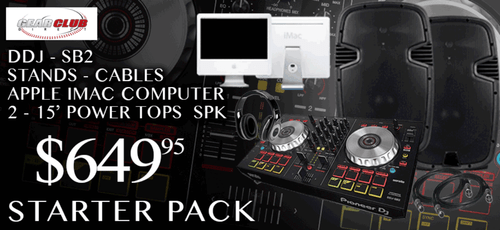 Free shipping, Free tech support, everything you need to start creating your own music.
