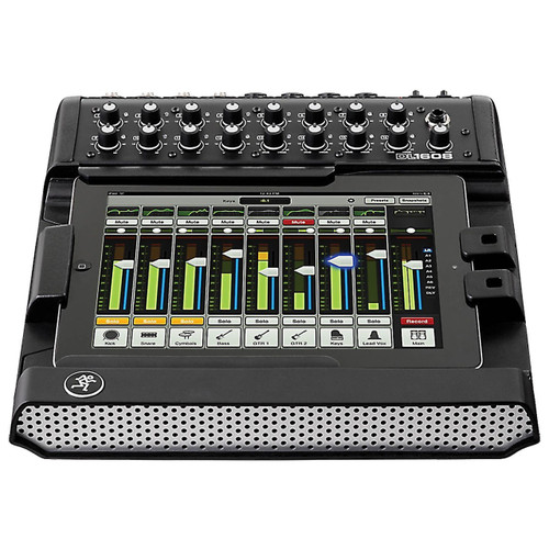 Mackie DL1608 16-Channel Digital Live Sound Mixer with iPad Control Front View