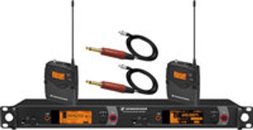 Sennheiser 2000BP2-INST Dual Channel Bodypack System for Instruments 2000BP2-INST-B