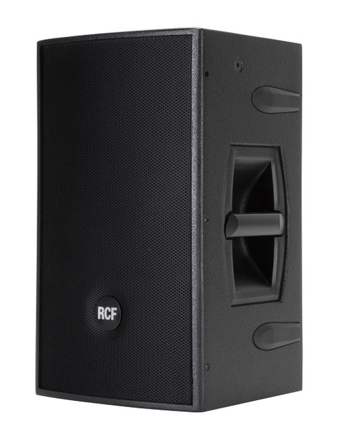 "RCF 4PRO1031-A Active 800W 2-way wood cabinet - 10"" w/1.4"" HF comp."