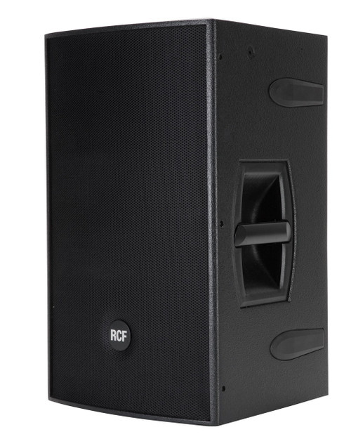 "RCF 4PRO2031-A Active 1200W 2-way wood cabinet - 12"" w/1.7"" HF comp."