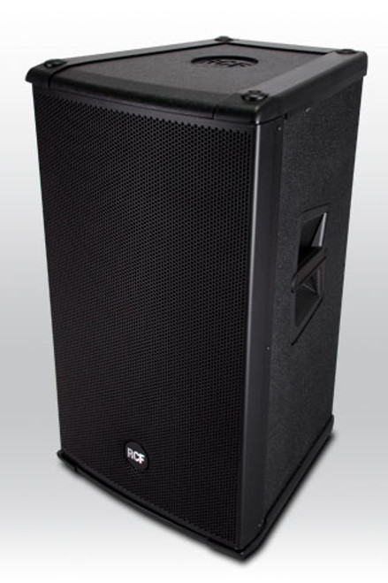 "RCF 4PRO3031-A Active 1200W 2-way wood cabinet - 15"" w/1.7"" HF comp."