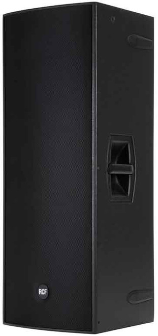 """RCF 4PRO5031-A Active 1200W 2-way wood cabinet - 2x15"""" w/ 1.7"""" HF comp."""