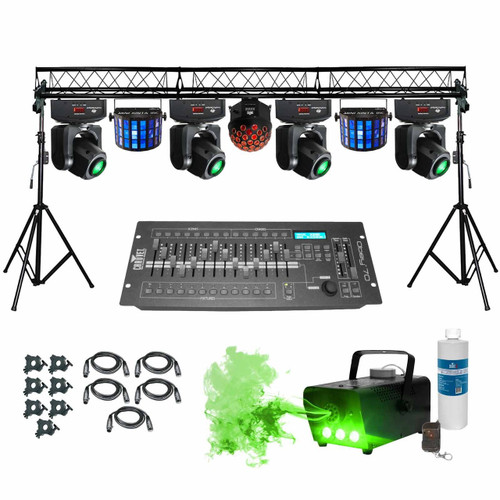 ProX Complete Portable Multi-Size Lighting Truss System with