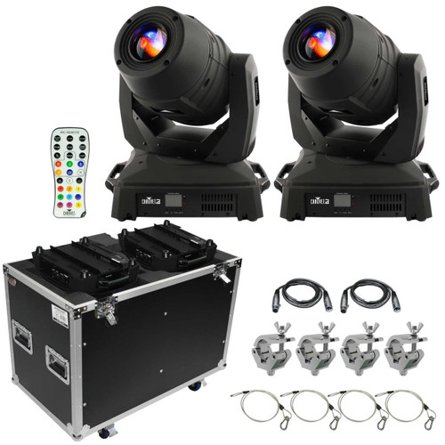 Chauvet DJ Intimidator Spot 455Z IRC Moving Head Duo Package