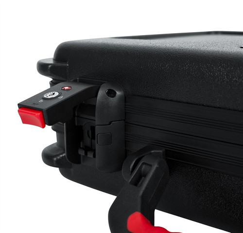 Gator Cases GTSA-MIC30 TSA ATA Molded Case w/ Drops for (30) Mics