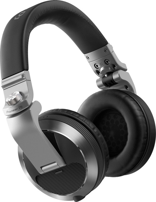 Pioneer HDJ-X7 Share Professional over-ear DJ headphones (Silver)