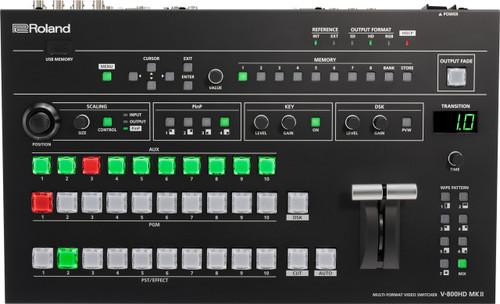 Roland Pro V-800HD MK II MULTI-FORMAT VIDEO SWITCHER