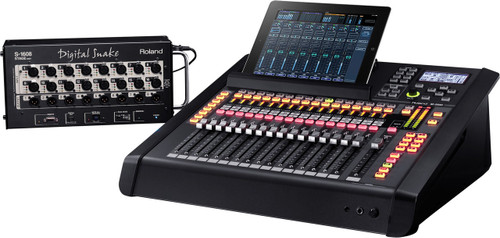 Roland M200i-EXP 40x22 Digital Mixing System (iPad not included)
