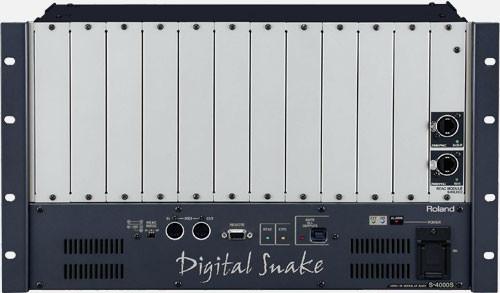 Roland S-4000S-MR Digital Snake Modular Rack Chassis