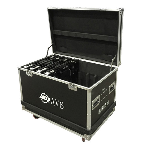 ADJ AV6 Video Wall Flight Case [AV6FC]