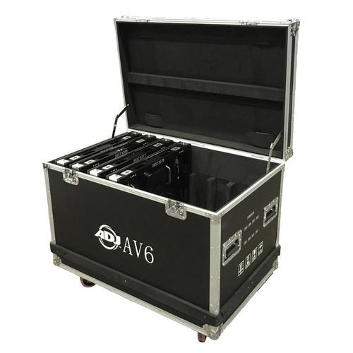 ADJ AV6 Video Wall Flight Case [AV6FC]