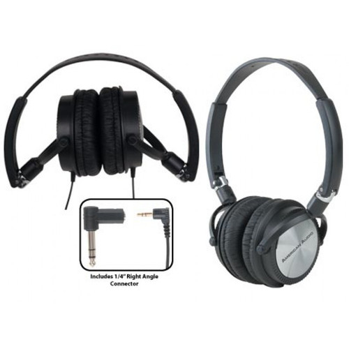 American DJ's HP 200 light weight Headphones