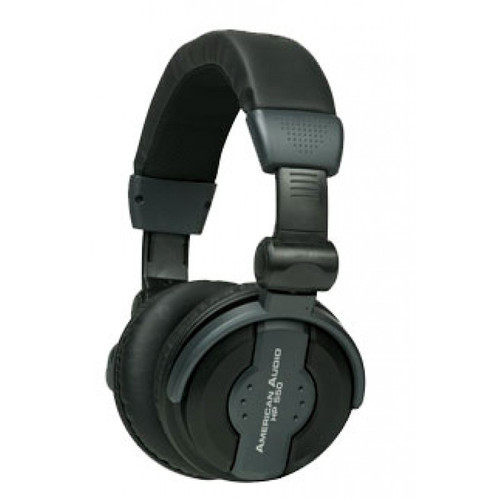 American DJ ADJ's 550 Headphones are designed with comfort in mind and are high powered.