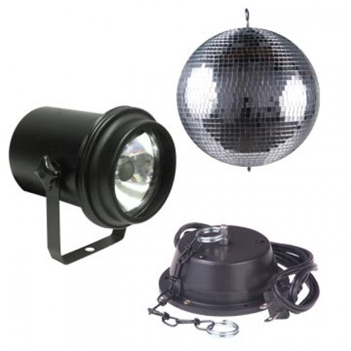 M-100L Mirror Ball Package from American DJ - The All-In-One Mirror Ball Package