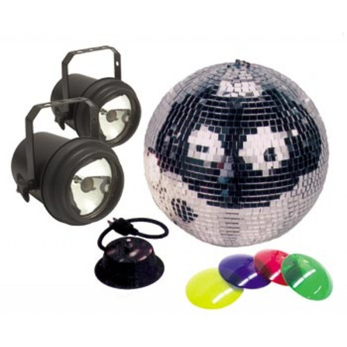 M-502L Mirror Ball Package from American DJ - The all in one disco ball experience