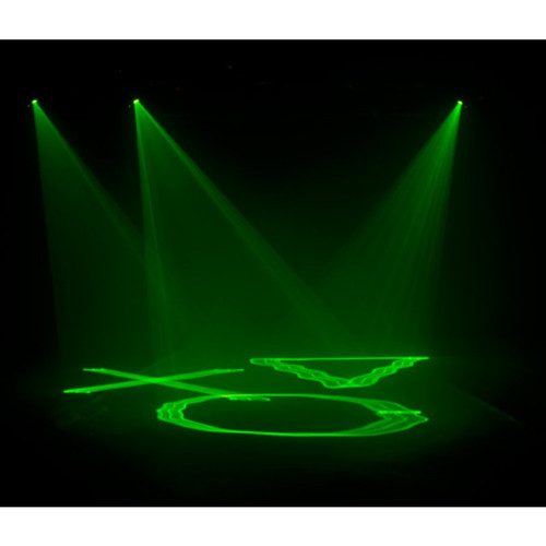 American DJ ADJ Micro Sky Laser Light Projector - Green Laser Light Shows  With A Liquid Sky Effect