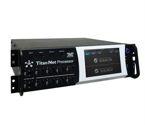 Avolites Titan net Processor Side View.