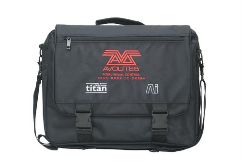 Avolites Titan Mobile Bag  Side View.