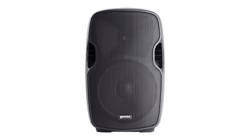 "Gemini AS-10P Active 10"" loudspeaker, 1,000W Peak, 160W + 40W RMS"