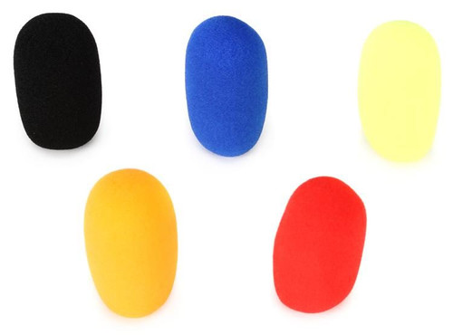 Samson WS5E - Qe / Qv Headset Windscreen 5-Pack (COLORS) (SAWS5E)