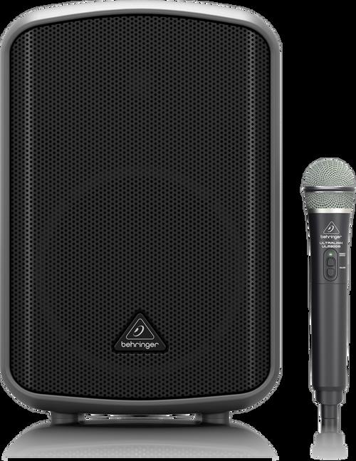 Behringer All-in-One Portable 200-Watt Speaker with Wireless Microphone