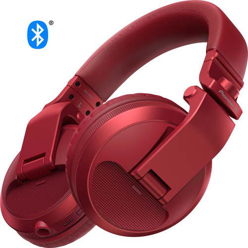 Pioneer HDJ-X5BT-K DJ Headphone Red