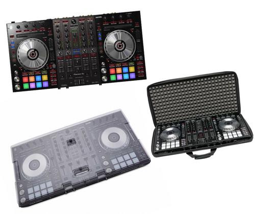 Pioneer DDj-SX3 + Decksaver DS-PC-DDJSX3 + MGA47996 Ctrl Case