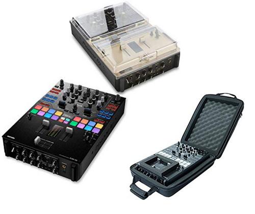 Pioneer DJM S9 + Decksaver DS-PC-DJMS9 + MGA47990 Ctrl Case (PS9DSMG)