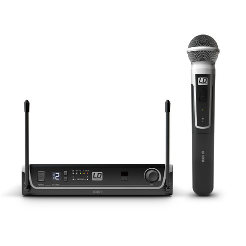 LD Systems Wireless Microphone System with Dynamic Handheld Microphone (LDS-U305HHD)