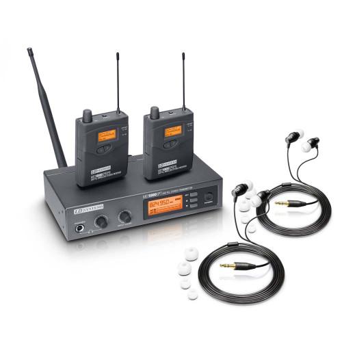 LD Systems 1 x MEI1000G2B5, 2 x MEI1000G2BPRB5, 2 x IEHP (LDS-MEI1000G2BUNDLE2)