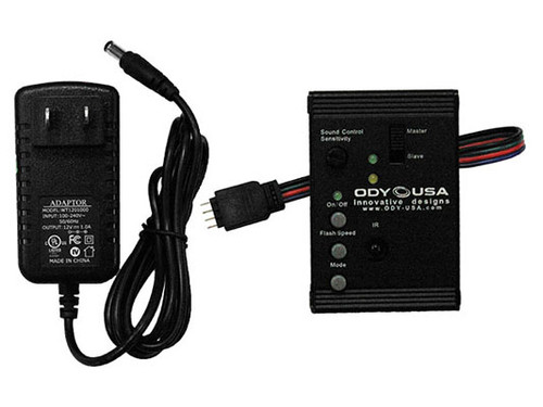 Odyssey AFFXLEDC-S3 SERIES III LED PANEL CONTROL BOX WITH POWER ADAPTOR FOR FX CASES