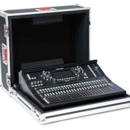 Gator Cases GTOURAHSQ6NDH G-Tour Custom Flight Case Designed to Fit the Allen & Heath SQ-6 Mixer