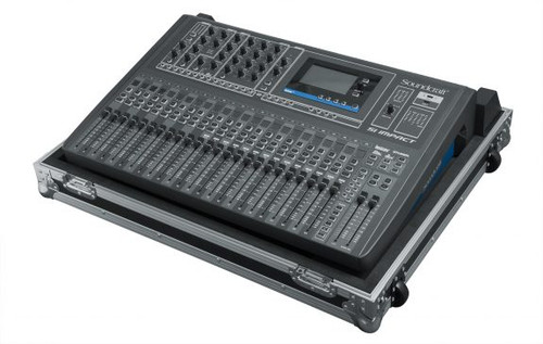 Gator Cases G-TOURSIIMPACTNDH ATA Wood Flight Case Custom Fit for Soundcraft Si Impact Mixing Console