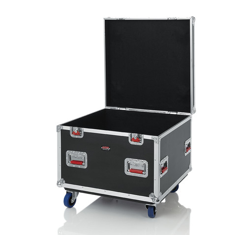 "Gator Cases G-TOURTRK3030HS Truck Pack Utility ATA Flight Case; 30"" x 30"" x 27"" Exterior Before Casters; 9mm Wood Construction"