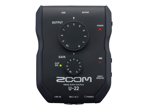 Zoom U-22 -  Handy Audio Interface