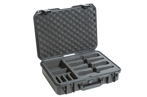 SKB 3i-1813-5WMC - iSeries Injection Molded Case for (4) Wireless Mic Systems