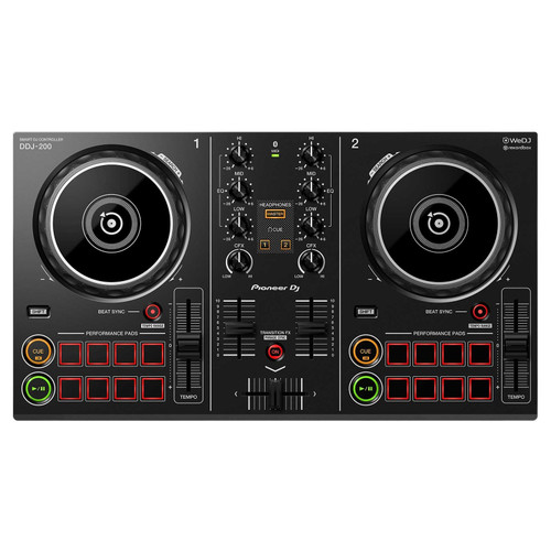Pioneer DJ DDJ-200 - Smart DJ Controller Makes Mixing Easy for All