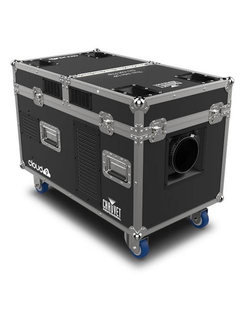 Chauvet Professional CLOUD9 - Cloud 9 Low fogger Includes: Integrated Flight Case, Fog-Hose. Control:  3-pin DMX, 5-pin DMX