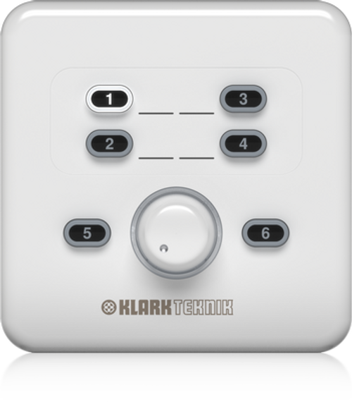 Klark Teknik CP8000EU - Remote Control for Volume and Source Selection